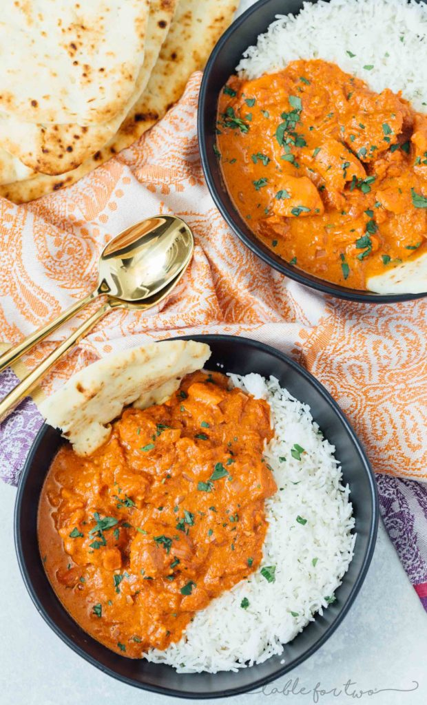 Stove Top Butter Chicken